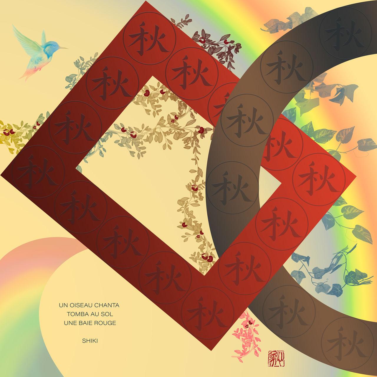 Digital graphic design - Automne