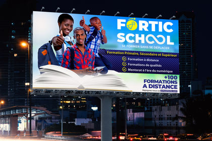 Affiche Publicitaire Fortic Group SARL