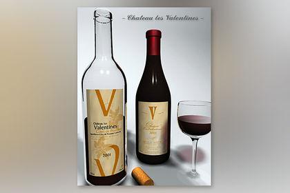Etiquettes de vin