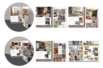 """Conception d'un catalogue """"La Maison du Placard"""""""