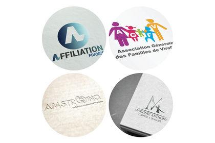 Création de logos d'entreprise