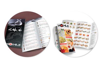 Conception d'un menu pour un restaurant