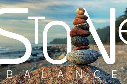 Stone balance...