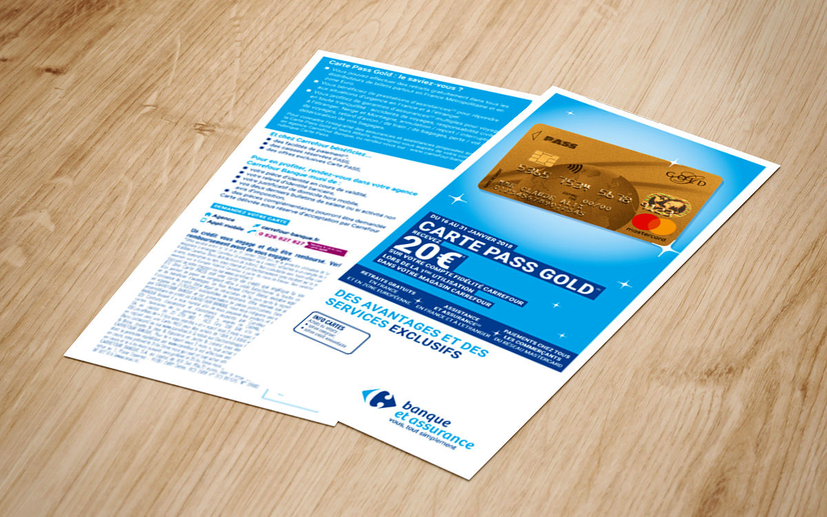 CRF BANQUE - flyer