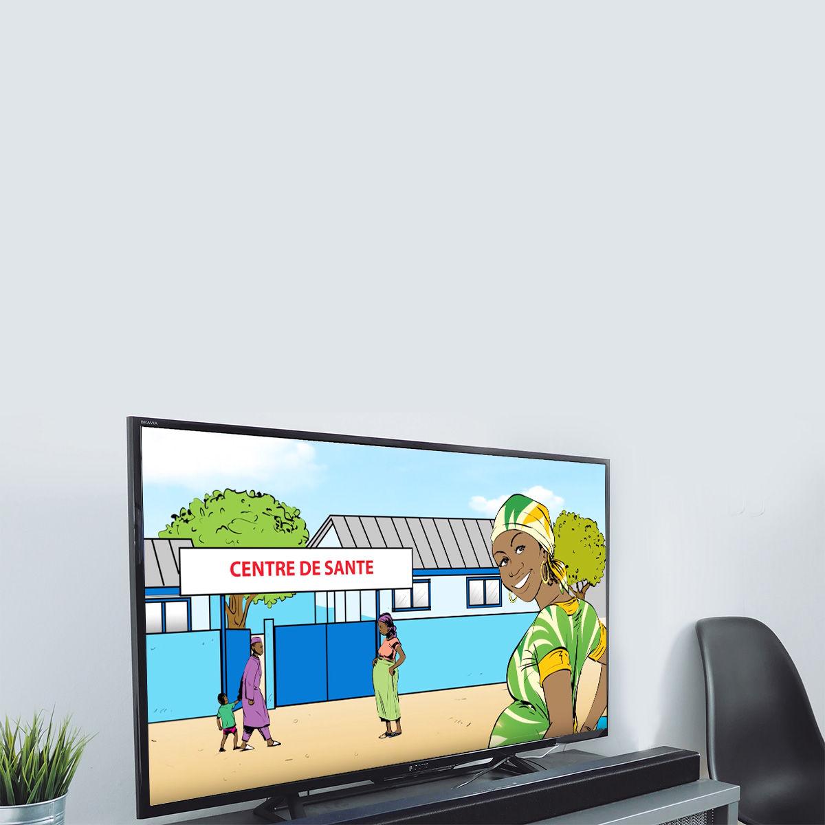 Video animation 2D CROIX ROUGE Côte d'Ivoire