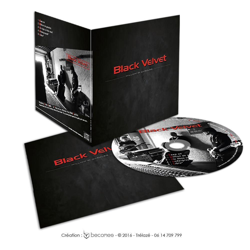 Création pochette cd