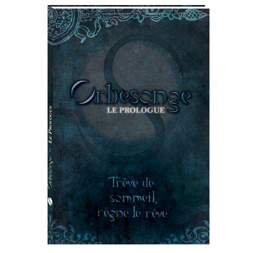 """Maquette et couverture de """"Orbesonge - LePrologue"""""""