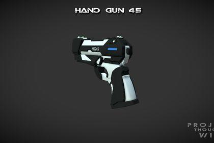 Pistolet 3D Science-Fiction
