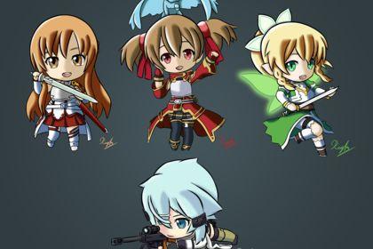 Sword Art Online Chibi