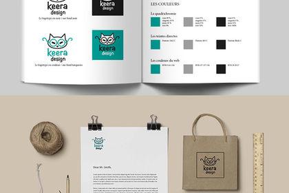 Charte graphique Keera Design