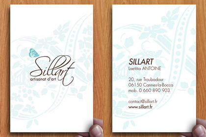 Carte de visite pour Sillart