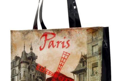 Illustration pour le Moulin Rouge