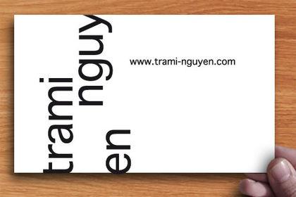 Carte de visite pour Trami Nguyen