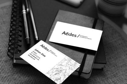 Logo pour une société d'architecture