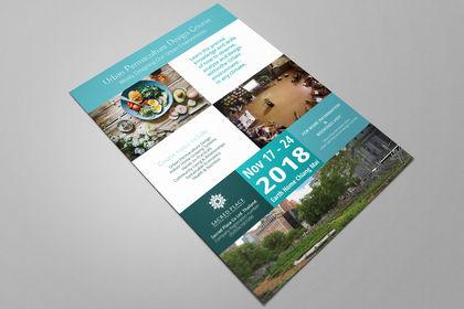 Affiche pour Urban Permaculture Design Course
