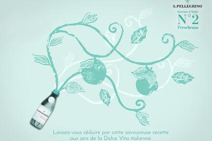 Publicité - Nouvelle gamme S.Pellegrino