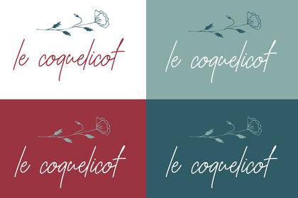 Logotype - le coquelicot