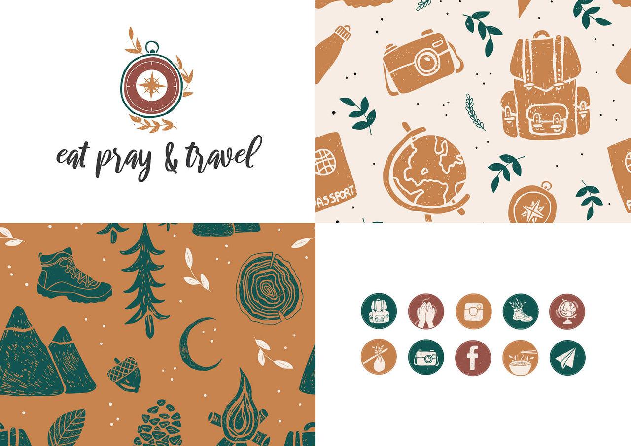 Identité visuelle | Blog voyage