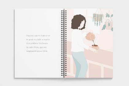 Illustration - Le carnet de Pauline