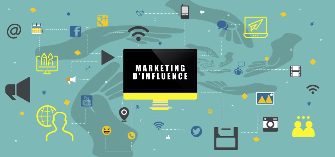Bannière Marketing d'influence
