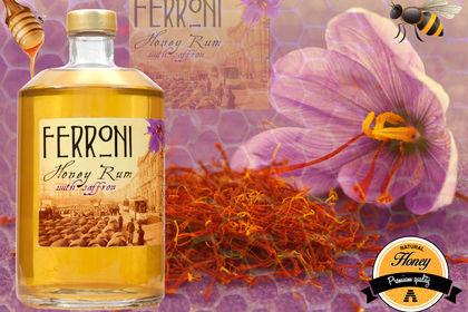 Fiche produit Honey Rhum Ferroni