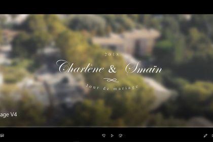 Capture d'écran intro vidéo de mariage