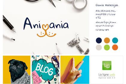 Planche logo Animania