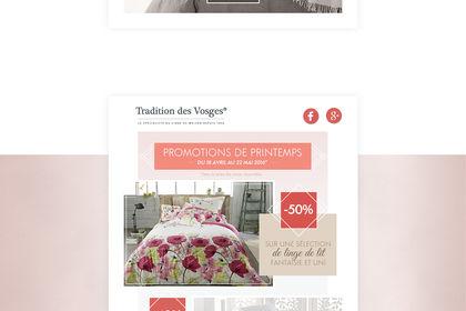 Tradition des Vosges - Newsletters