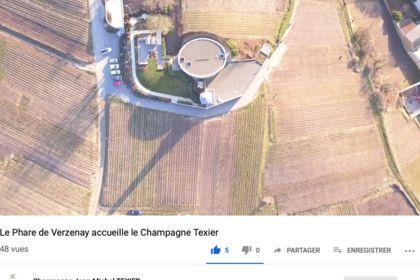 Le Phare de Verzenay accueille le Champagne Texier