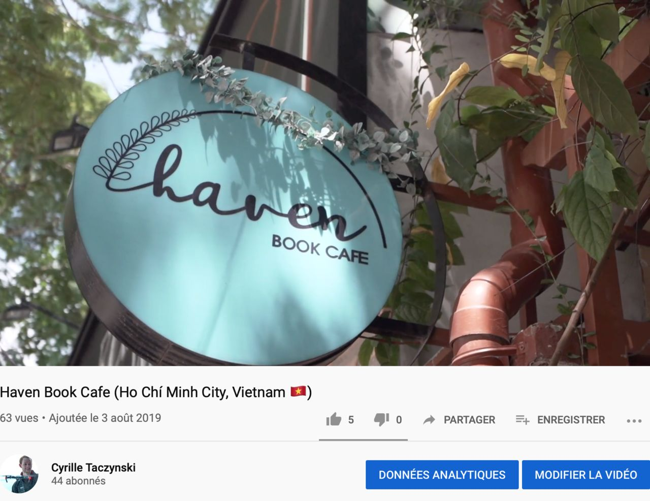 Haven Book Cafe (Ho Chí Minh City, Vietnam 🇻🇳)