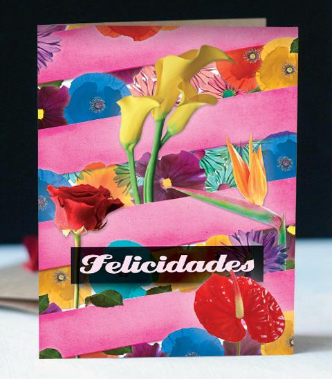 Carte de félicitation