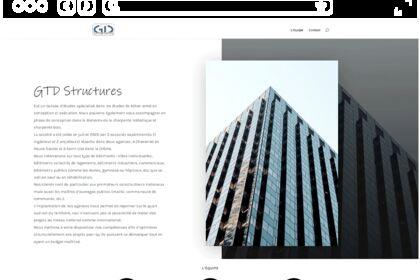 Site web pour agence d'architecte