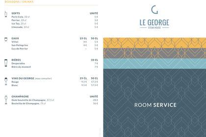 Carte Room Service