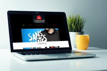 Site internet L'imprimerie Theatre