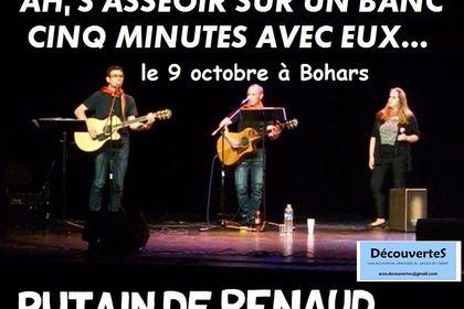 """Pub pour le spectacle """"Putain de Renaud"""""""