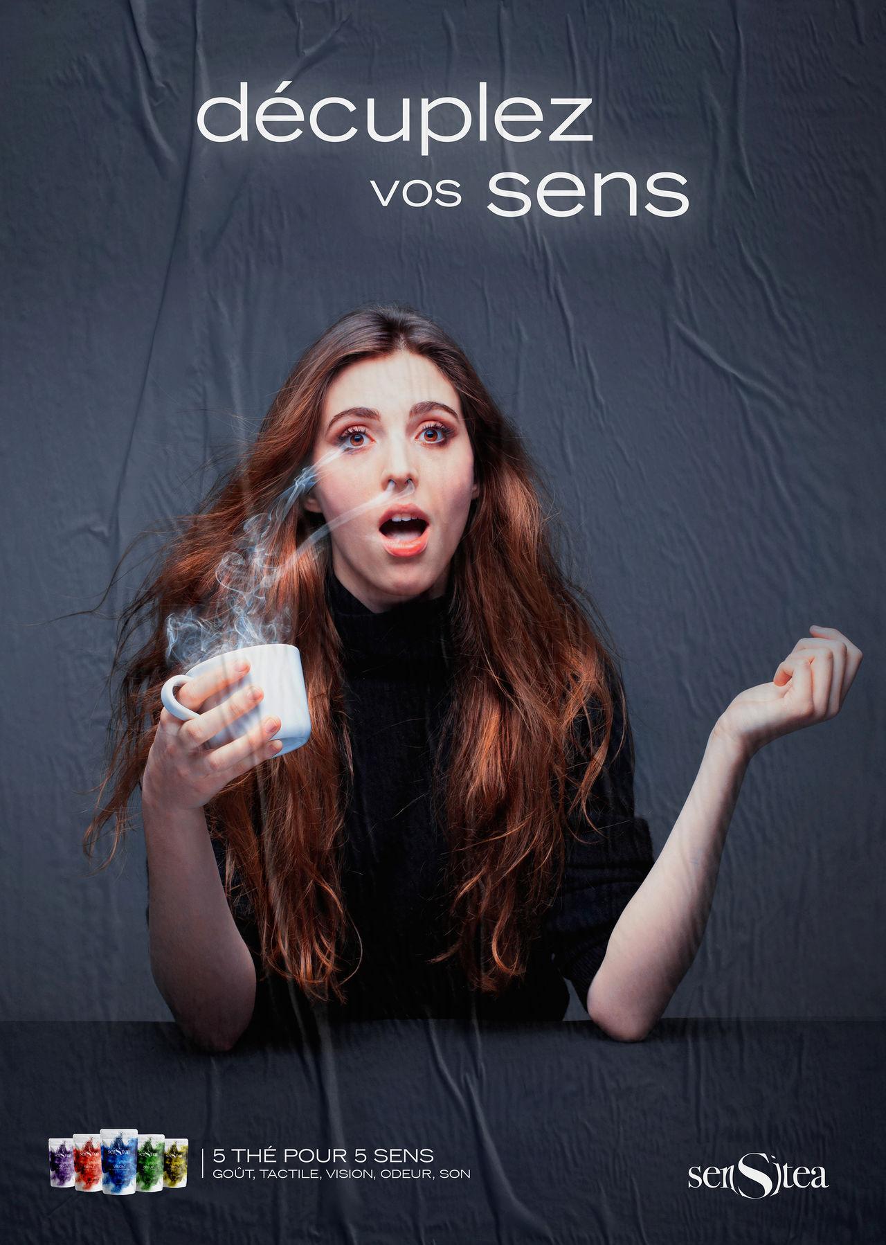 Sensitea - Publicité