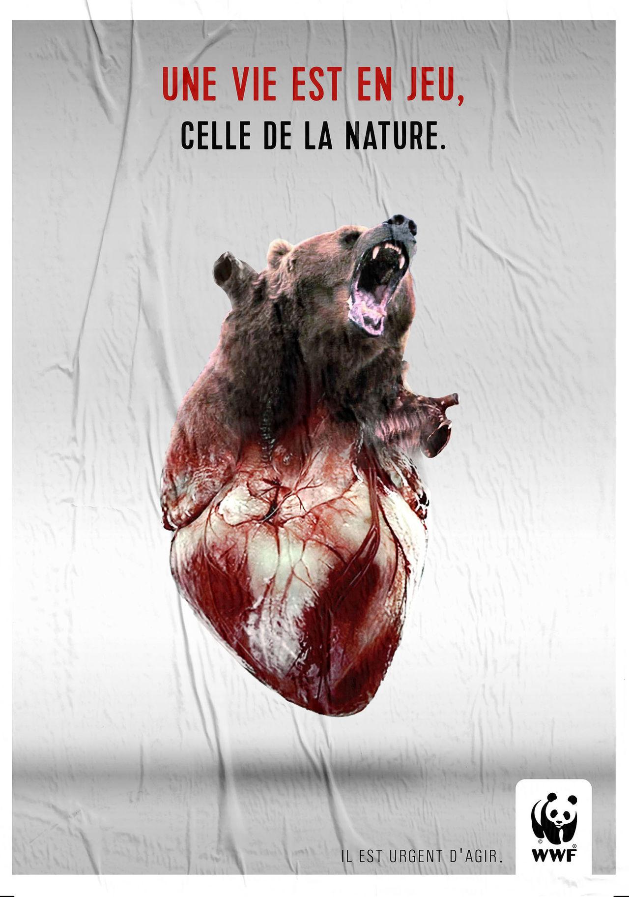 Campagne publicitaire WWF