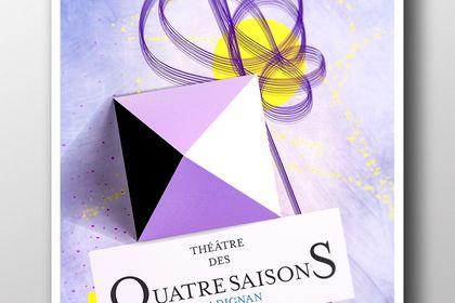 Affiche Du théâtre des 4 saisosn de Gradignan