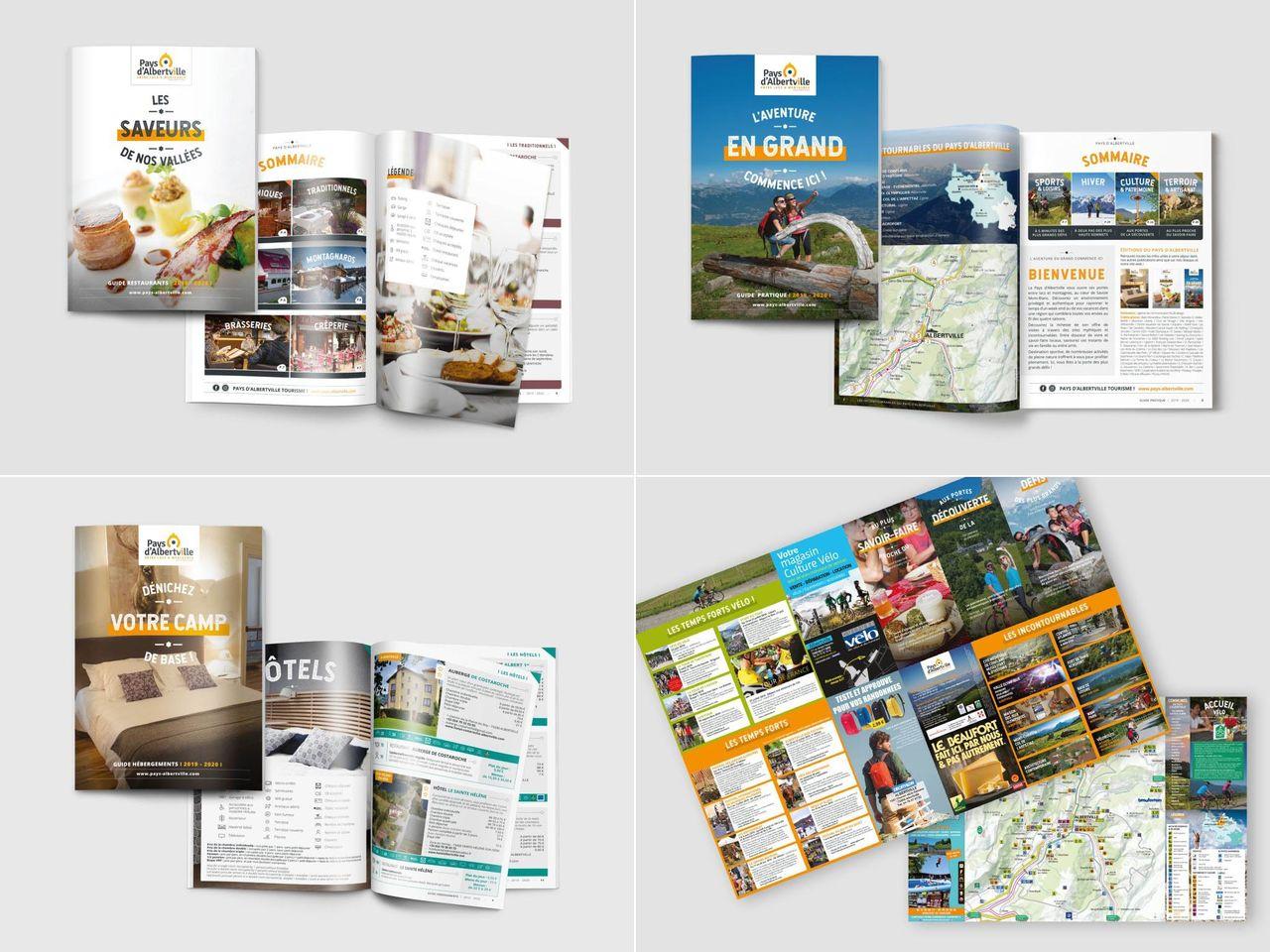 Guides et carte touristique - MAISON DU TOURISME