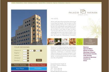 Hôtel urbain - Palacio Avenida - Espagne
