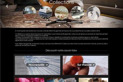 Webdesign du site du créateur