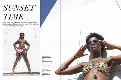 Direction artistique pour Elle Magazine