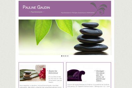 Création du site web psychanalyste