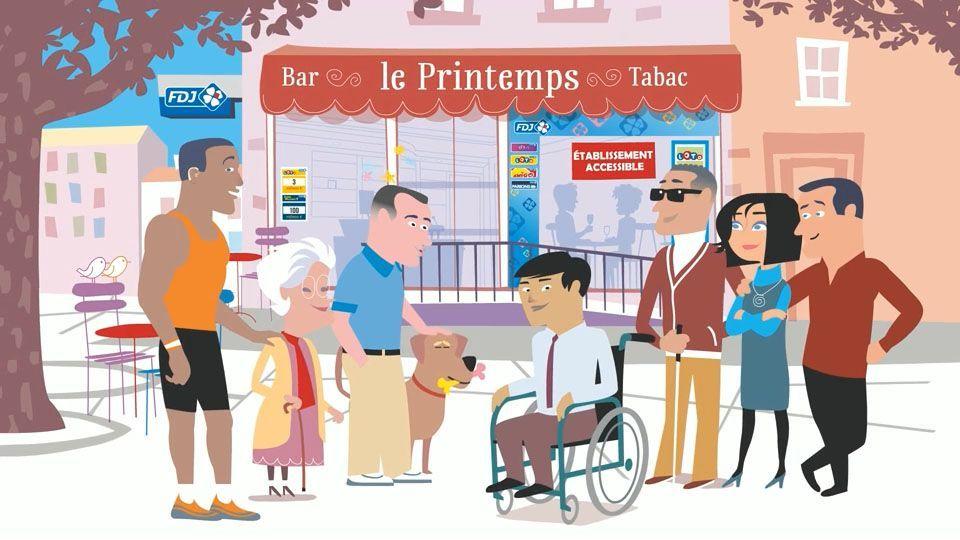 La Française des Jeux et le handicap