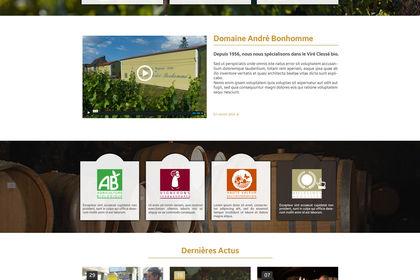 Site Internet Domaine André Bonhomme