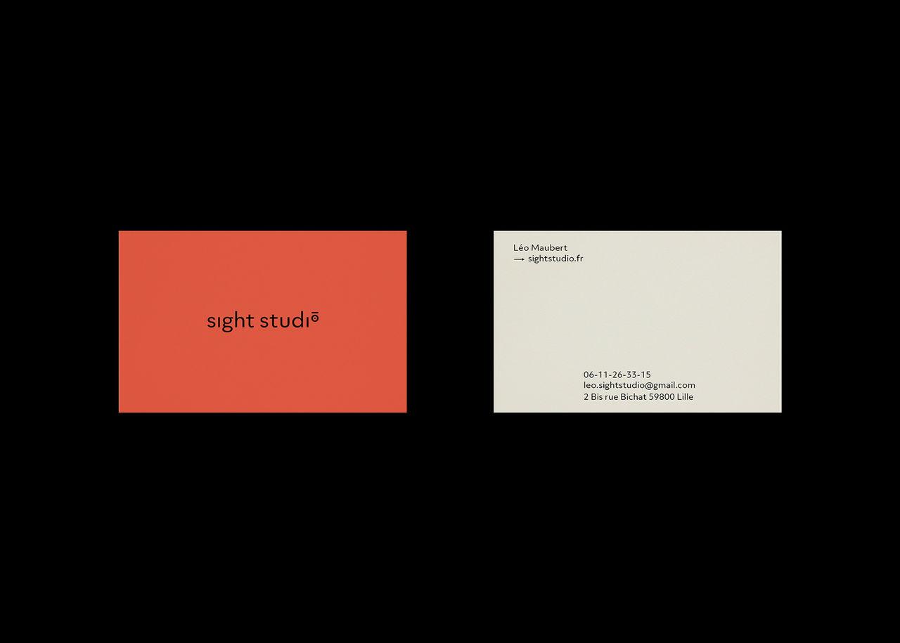 Sight studio identité graphique
