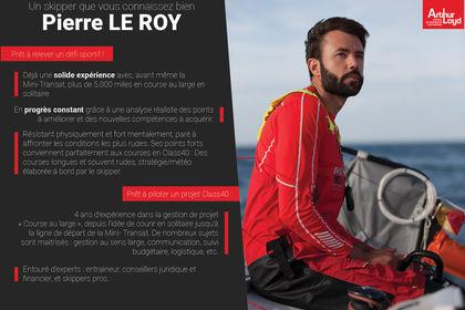 Présentation Pierre LeRoy pour son sponsor
