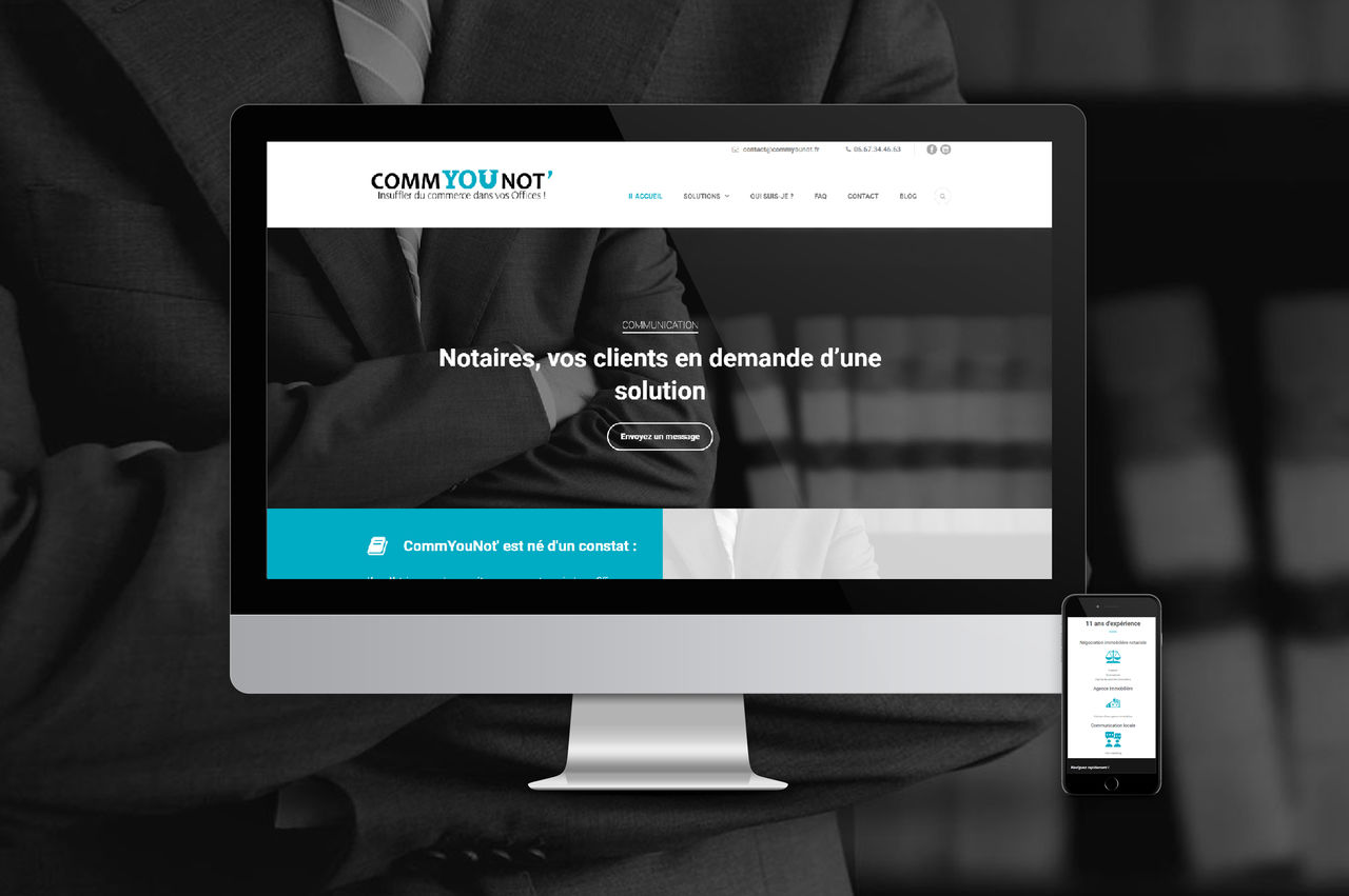 Site internet - Commyounot.fr