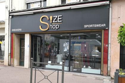 Nouvelle enseigne - SizeShop à Epinal