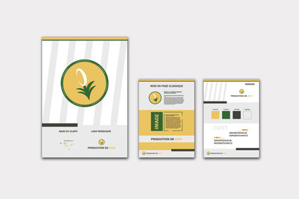 Redesign logo+charte